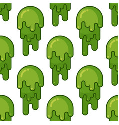 Snot seamless pattern snivel ornament booger vector