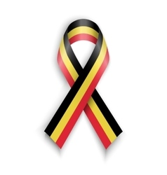 Abstract Belgian ribbon vector image