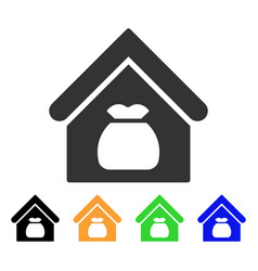 harvest warehouse icon vector image