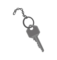 Key and keychain icon image vector