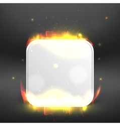 Burning icon Modern design template vector
