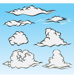 Clouds and Sky vector image