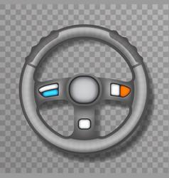driving car vehchile wheel transportation vector image