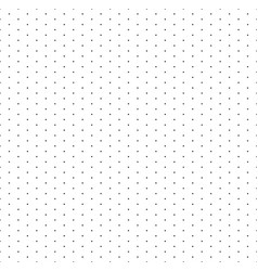 grid with dots paper seamless pattern isometric vector image