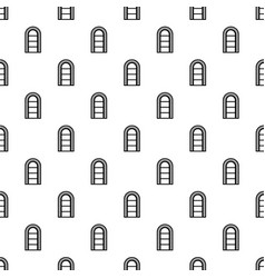 Narrow window frame pattern seamless vector