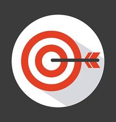 Target icon design vector