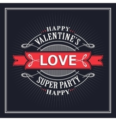 Valentine s Day Greeting Cards vector