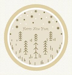 happy new year123 vector image vector image
