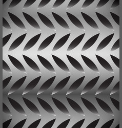 abstract perforated carbon fiber background vector image