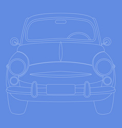 cars23 vector image