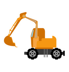 Construction vehicle image vector
