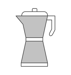 french coffee press icon vector image