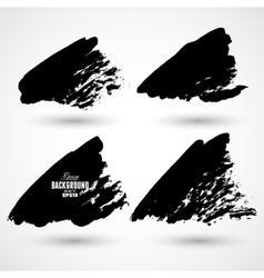 Grunge splash banners vector image