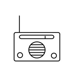 Radio music melody sound icon graphic vector