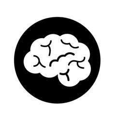 brain organ human icon vector image