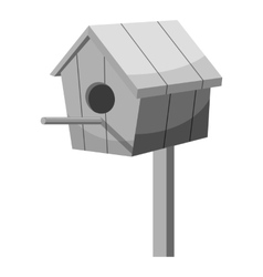 Nesting box icon gray monochrome style vector image vector image