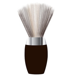 Shave brush vector image