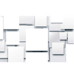 abstract white geometric with technology vector image