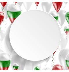 Flag of Bulgaria vector