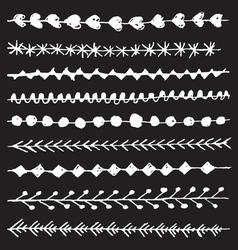 Hand drawn border vector image