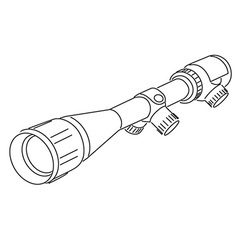 Optical sight vector