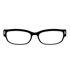 reading glasses icon simple style vector image