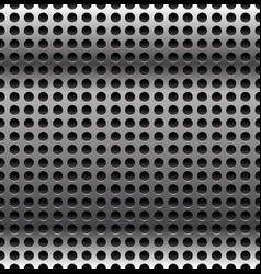 Abstract perforated carbon fiber background vector