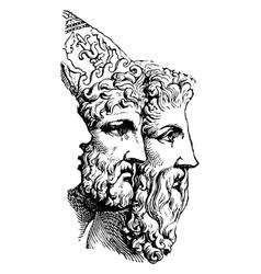 Agamemnon vintage vector