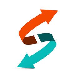 Arrows - double arrow symbol vector