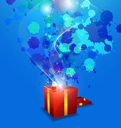 Artistic anniversary celebration vector