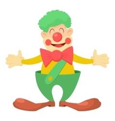 Clown icon cartoon style vector image