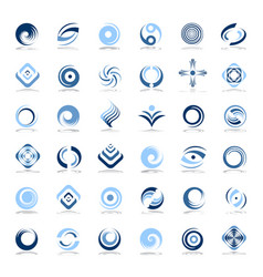 design elements set vector image