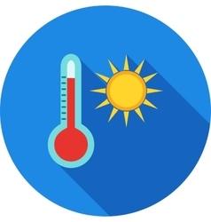 Hot Weather vector