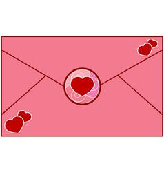 letter love vector image