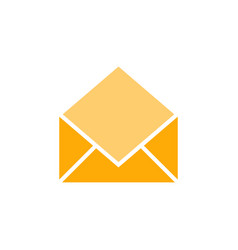 Opened mail graphic icon design template vector