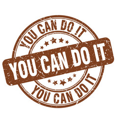 You can do it stamp vector