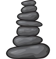 Zen stone vector