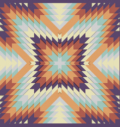 seamless tribal pattern geometrical ornament in vector image