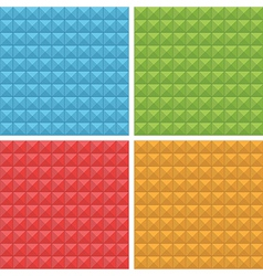 square patterns seamless vector image