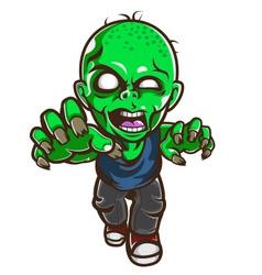 zombie attack vector image