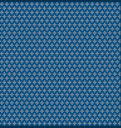 seamless knitted geometric background vector image
