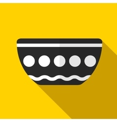Bowl icon vector