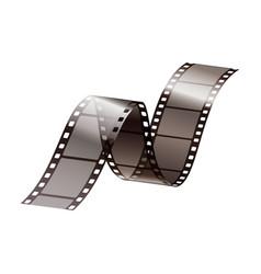 film strip realistic icon vector image