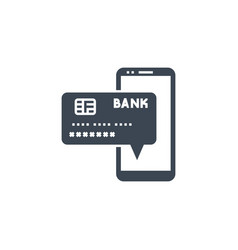 On payment related glyph icon vector