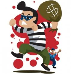 Thief-runaway vector