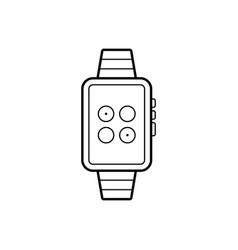 Watch synchronization vector