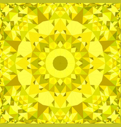 yellow abstract repeating triangle mosaic vector image
