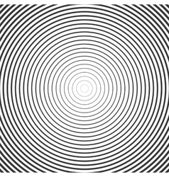 Circle Ring Hypnotic Background vector image vector image