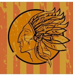 Leader Redskins vector image