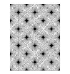 Square block print wallpaper vector image